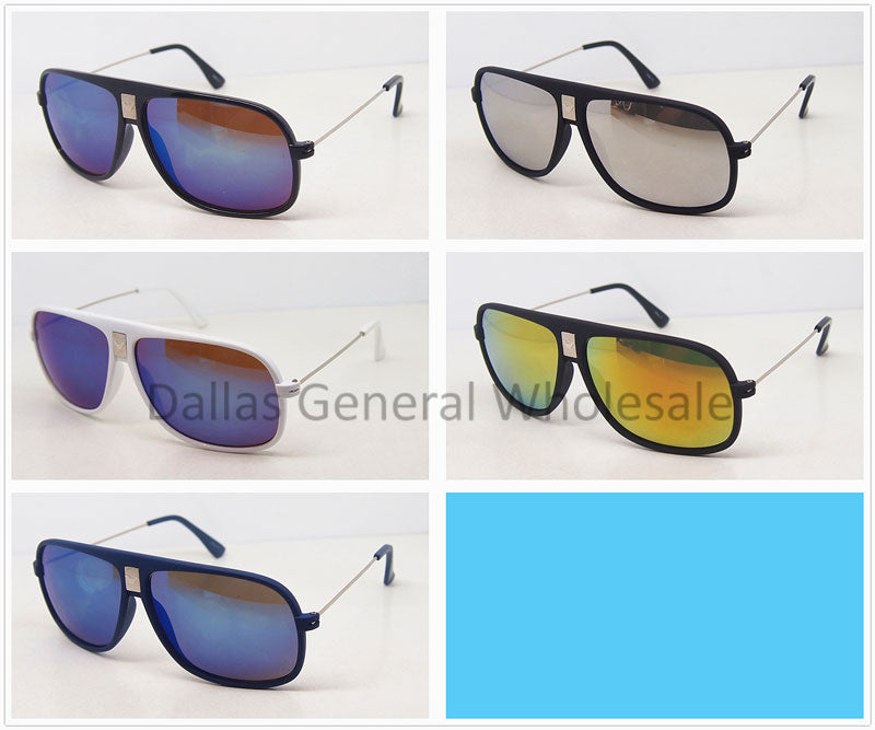Men Sunshades with Mirror Lenses Wholesale