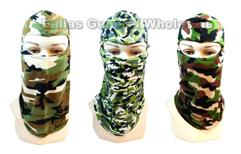 Camouflage Outdoors Masks Balaclava Wholesale - Dallas General Wholesale
