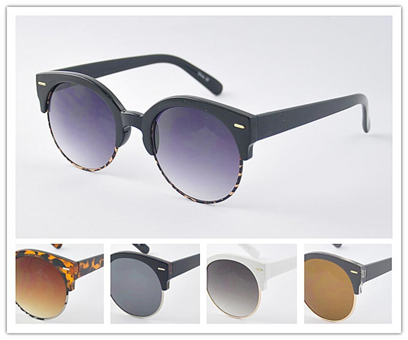 Adults Round Fashion Sunglasses Wholesale