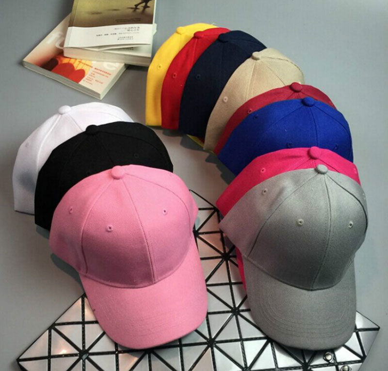 Solid Colors Blank Baseball Caps Wholesale - Dallas General Wholesale