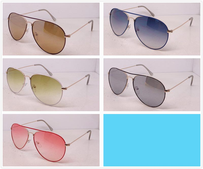 Aviator Metal Frame Sun Shades Wholesale