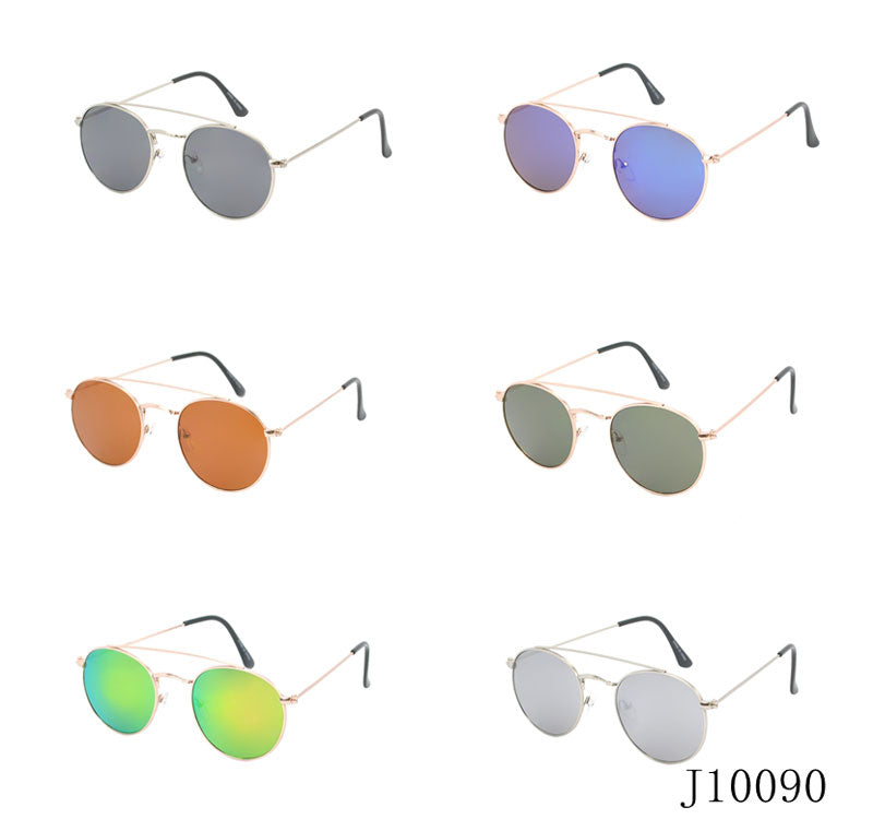 Round Mirror Lenses Sun Shades Wholesale - Dallas General Wholesale