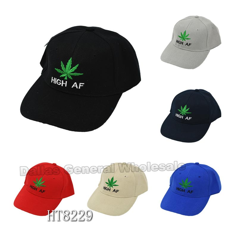 Trendy High AF Marjuana Caps Wholesale - Dallas General Wholesale