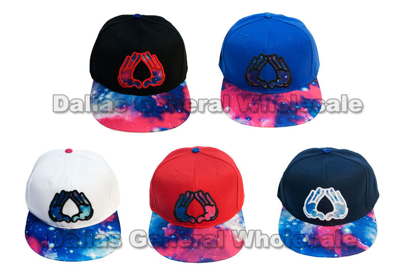 Illuminati Hand Casual Flat Bill Caps Wholesale - Dallas General Wholesale