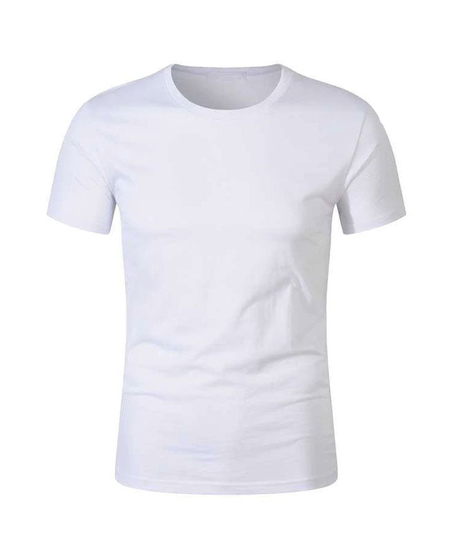 White Cotton Tshirts Wholesale