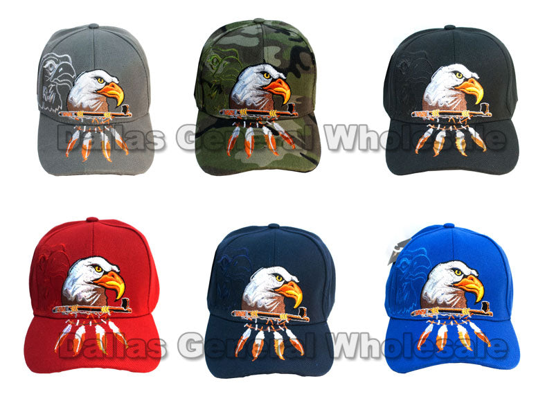 Eagle Casual Baseball Caps - Dallas General Wholesale