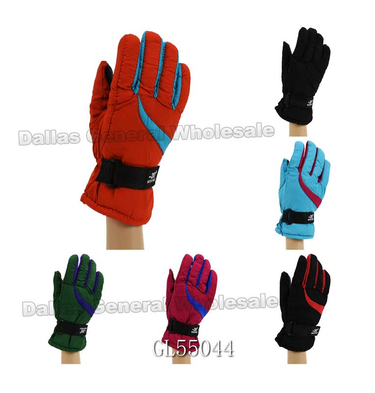 Women Heavy Insulated Outdoors Gloves Wholesale - Dallas General Wholesale