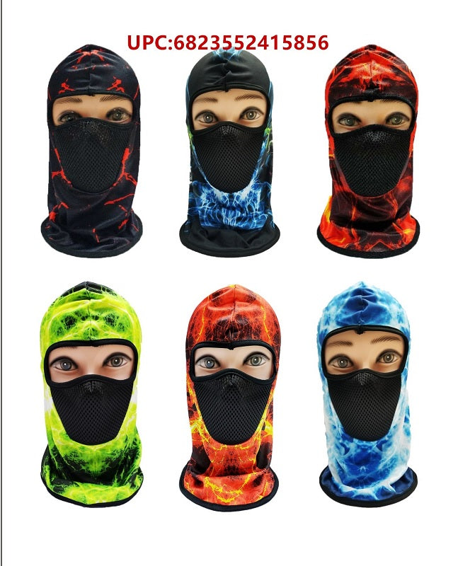 Flames Ninja Masks Balaclava Wholesale - Dallas General Wholesale
