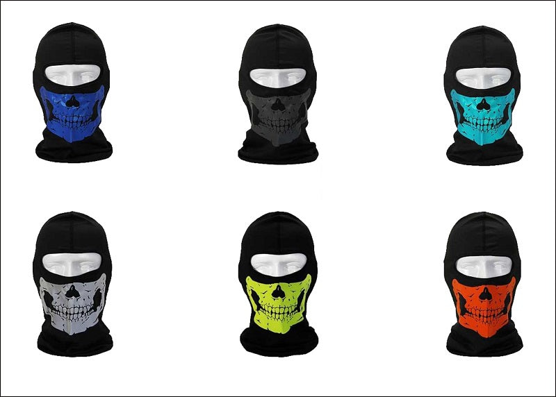 Skull Printed Face Masks Balaclava Wholesale - Dallas General Wholesale