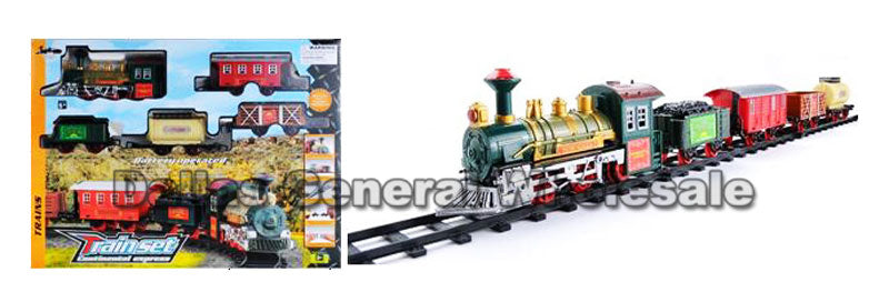 Electronic Toy Train Track Set Wholesale - Dallas General Wholesale