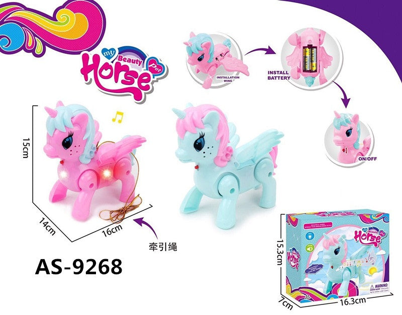 Electronic Toy Singing Walking Unicorns Wholesale - Dallas General Wholesale