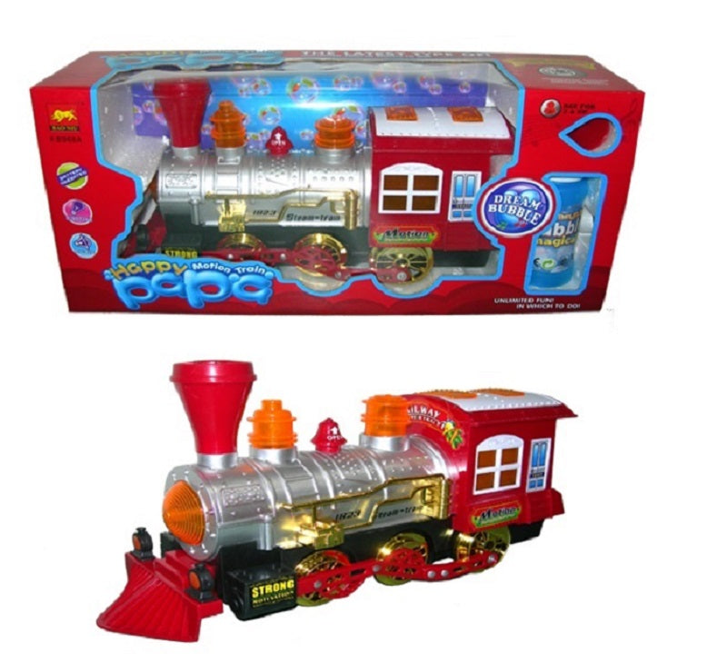 Toy Bubble Blowing Electronic Trains Wholesale - Dallas General Wholesale