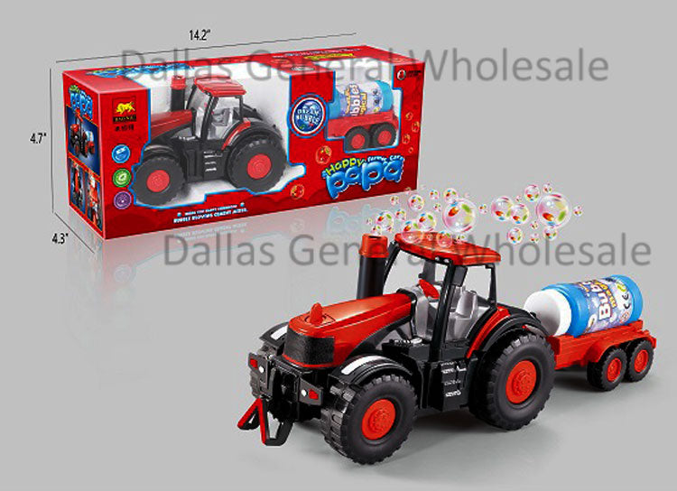 Toy Bubble Tractor Trucks Wholesale