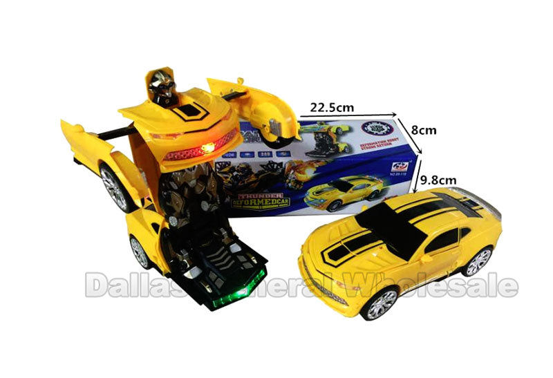 Electronic Toy Transform Robot Cars Wholesale - Dallas General Wholesale