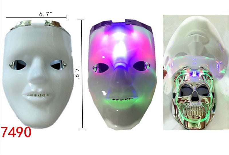 Light Up Double Layer Masks Wholesale - Dallas General Wholesale