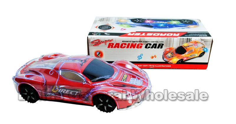 Flashing Light Up Music Toy Race Cars Wholesale - Dallas General Wholesale