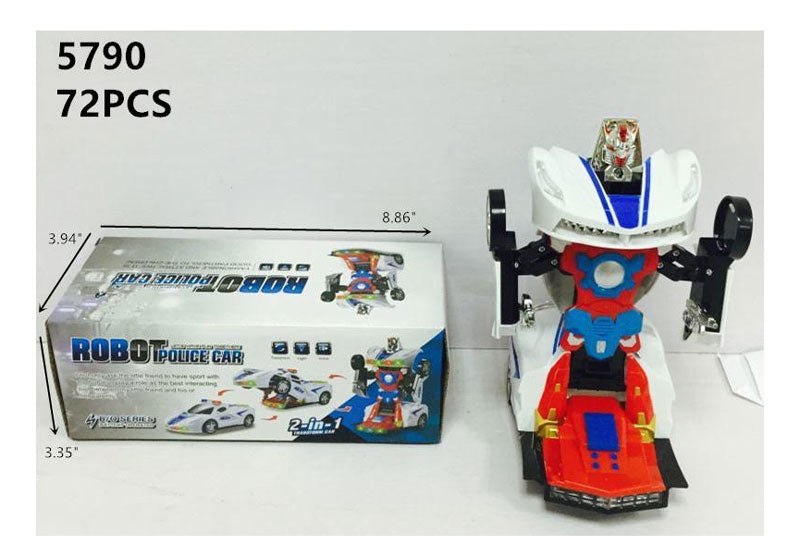 Electronic Toy Robot Police Cars Wholesale - Dallas General Wholesale