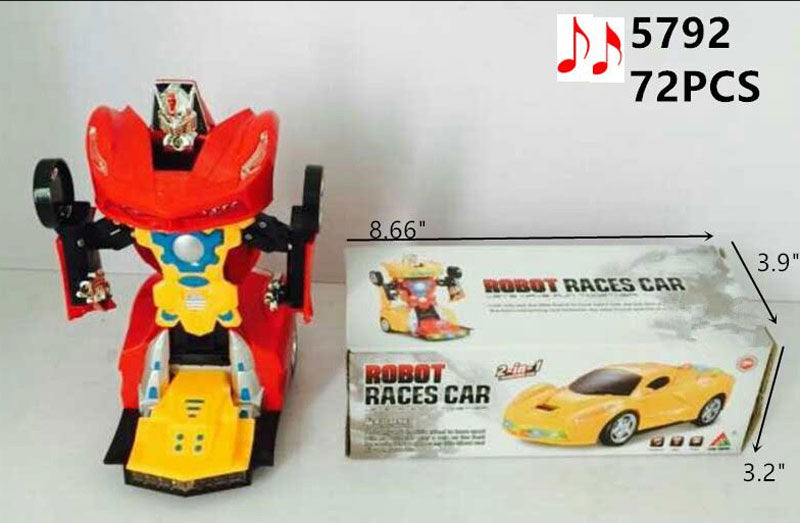 Electronic Toy Robot Race Cars Wholesale - Dallas General Wholesale