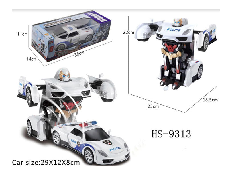 Toy Remote Control Police Robot Cars Wholesale - Dallas General Wholesale
