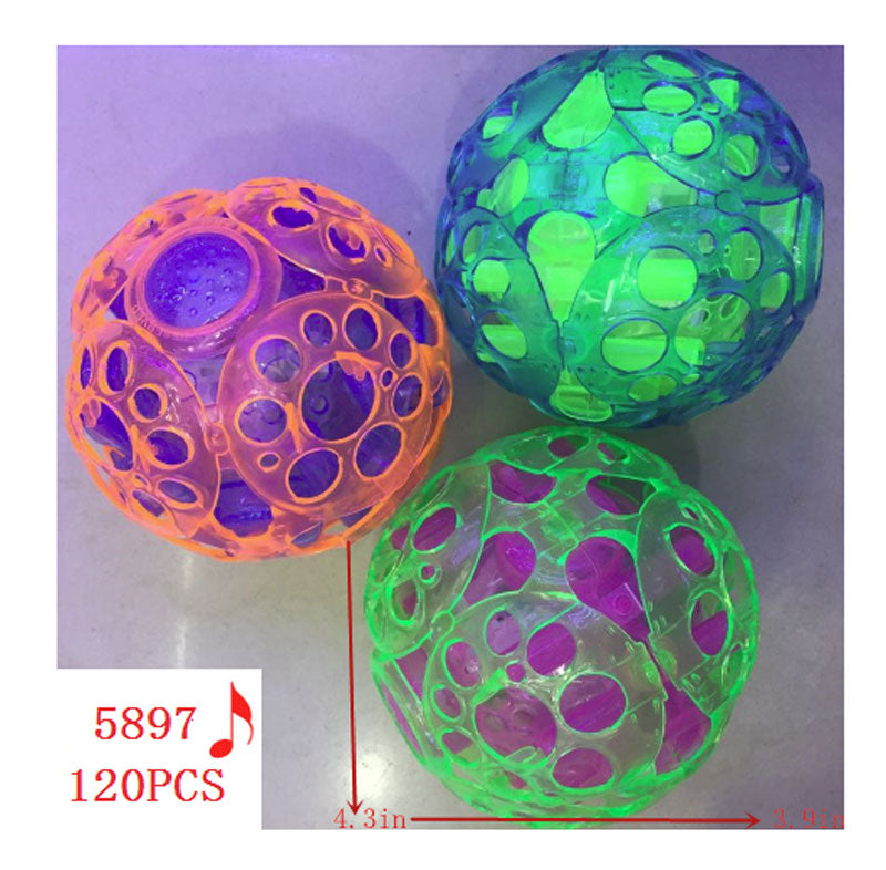 Light Up Bouncing Music Balls Wholesale - Dallas General Wholesale
