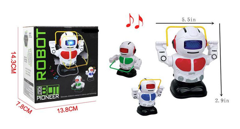 Jump Rope Electronic Toy Robots Wholesale - Dallas General Wholesale