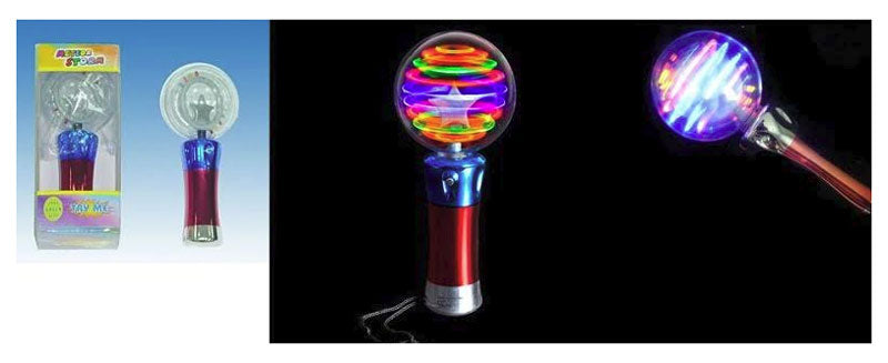 Flashing Glowing Light Up Spinning Sticks Wholesale - Dallas General Wholesale