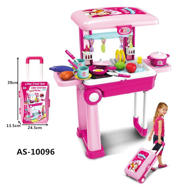 Assorted Kitchen Luggage Play Set Wholesale - Dallas General Wholesale