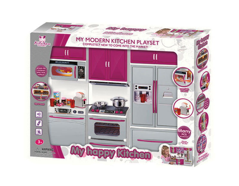 Modern Kitchen Pretend Play Set Wholesale - Dallas General Wholesale