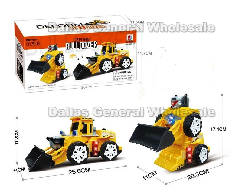 Electronic Toy Robot Bull Dozers Wholesale