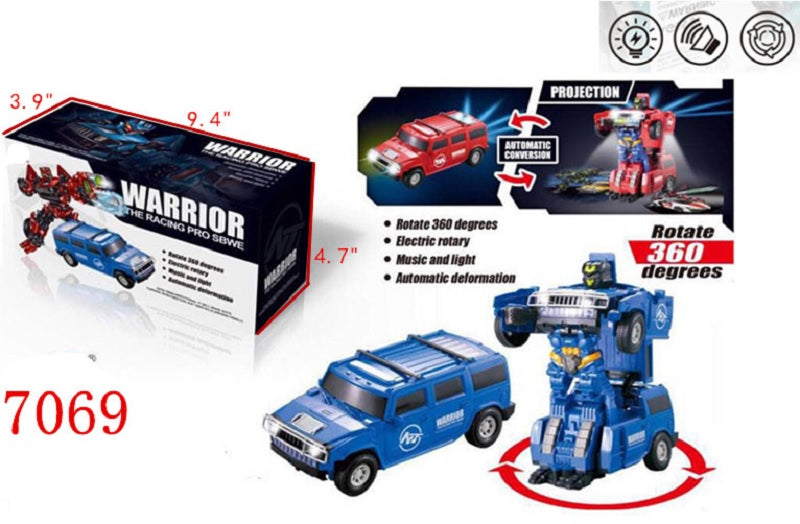 Electronic Toy Transform Robot Trucks Wholesale - Dallas General Wholesale