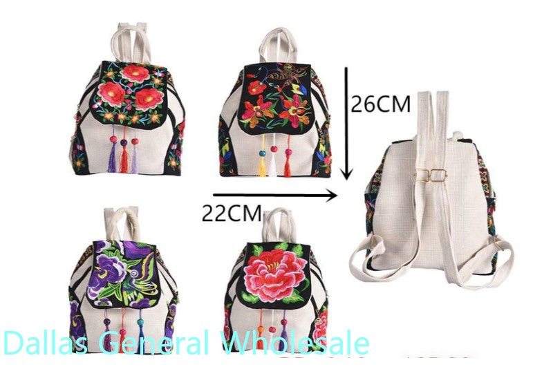 Cultural Floral Backpacks Wholesale - Dallas General Wholesale