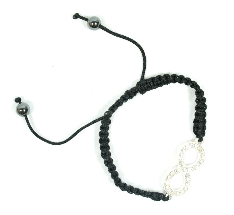Studded Infinity Drawstring Bracelets Wholesale - Dallas General Wholesale
