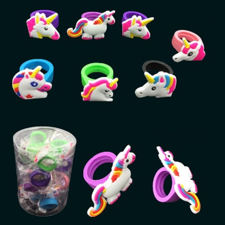 Novelty Unicorn Rings Wholesale - Dallas General Wholesale