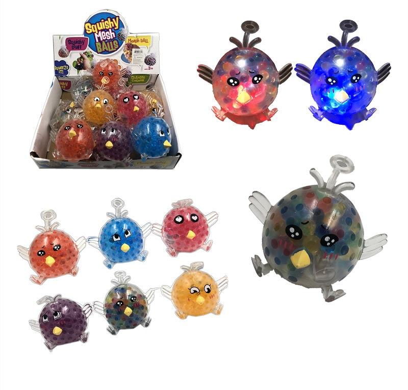 Light Up Bird Squishy Toys Wholesale - Dallas General Wholesale