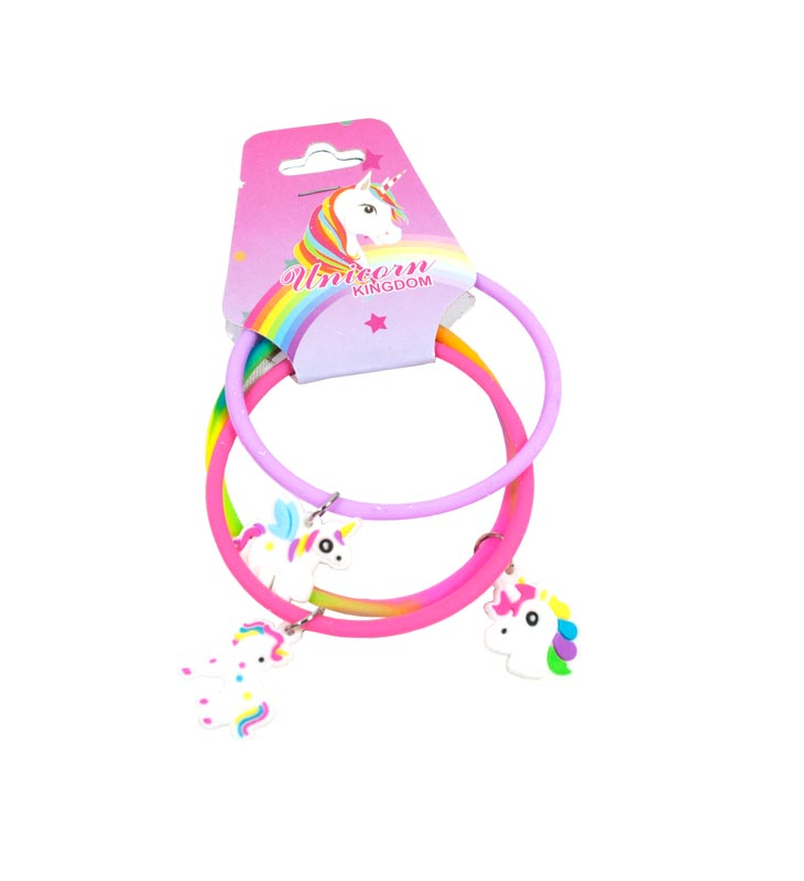 3 PC Unicorn Charm Bracelets Wholesale - Dallas General Wholesale