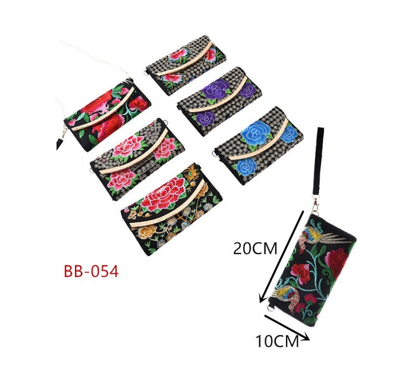Embroidered Fashion Wallets Wholesale - Dallas General Wholesale