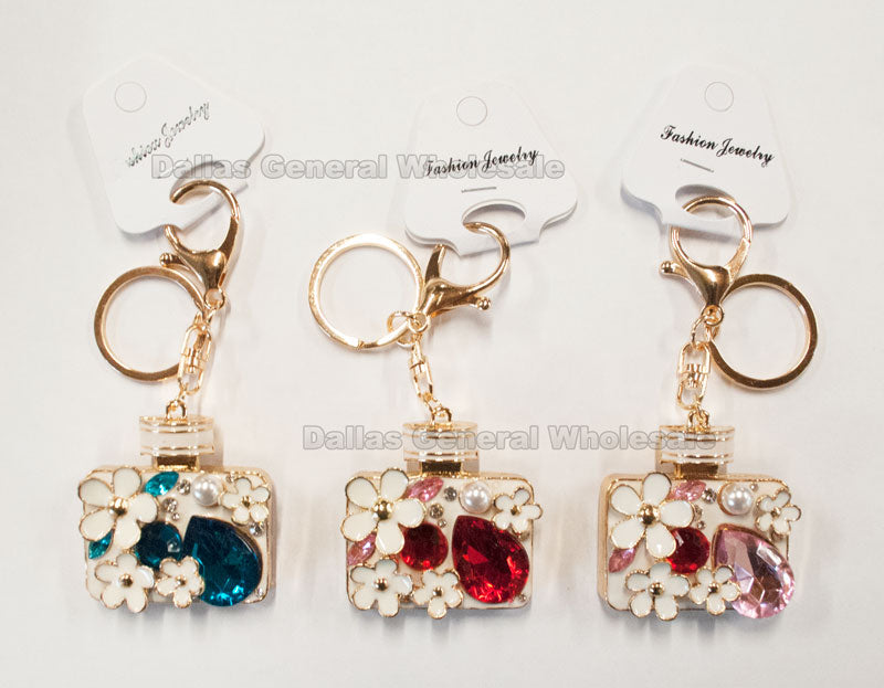 Perfume Bling Bling Key Chains Wholesale - Dallas General Wholesale