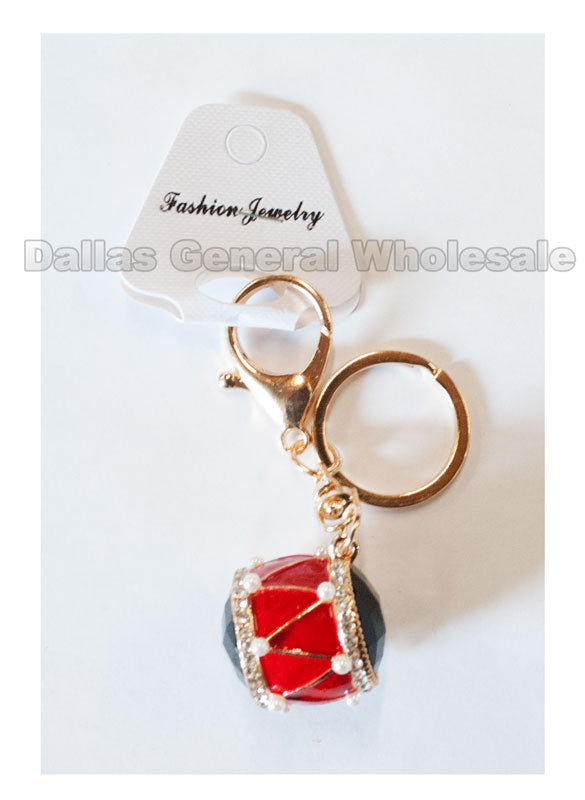 Bling Bling Drum Key Chains Wholesale - Dallas General Wholesale