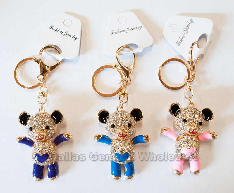 Bling Bling Bear Key Chains Wholesale - Dallas General Wholesale