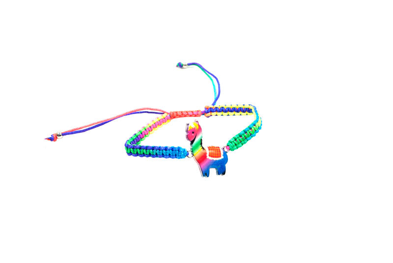 Llama Drawstring Bracelets Wholesale - Dallas General Wholesale