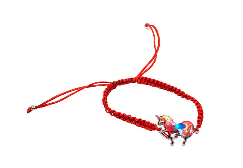 Unicorn Drawstring Bracelets Wholesale - Dallas General Wholesale