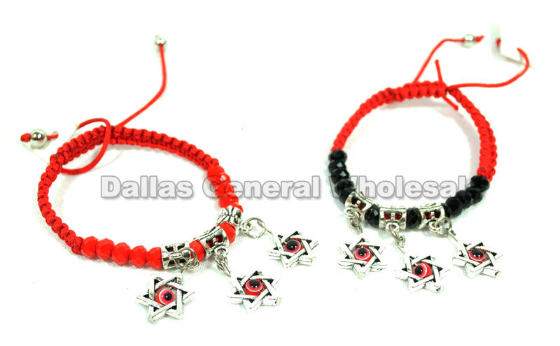 Fashion Braided Drawstring Bracelets Wholesale - Dallas General Wholesale