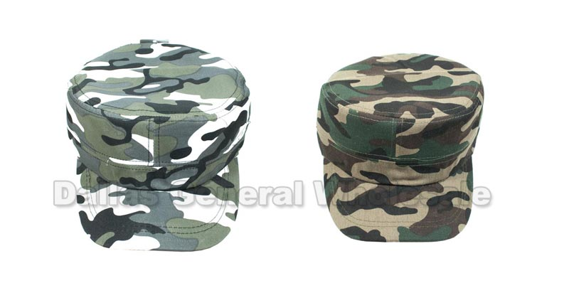 Camouflage Casual Cadet Caps - Dallas General Wholesale