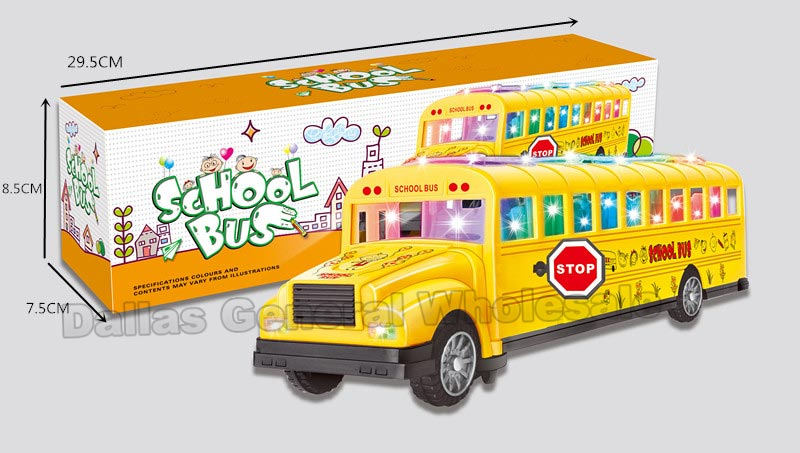 Toy School Buses Wholesale - Dallas General Wholesale