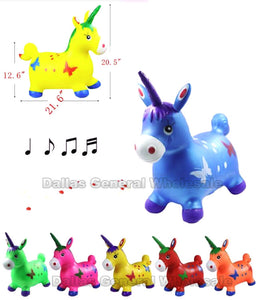 Inflatable Jumping Unicorns Wholesale - Dallas General Wholesale