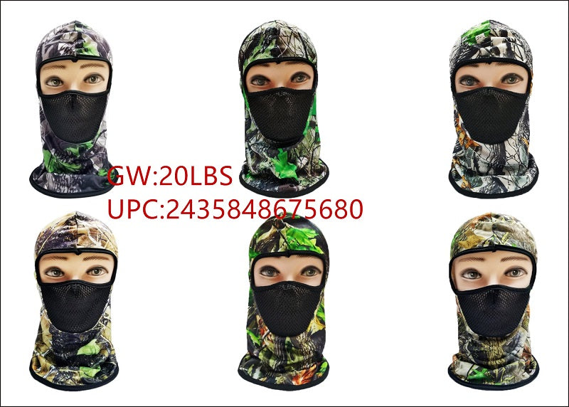 Camouflage Ninja Masks Balaclava Wholesale - Dallas General Wholesale