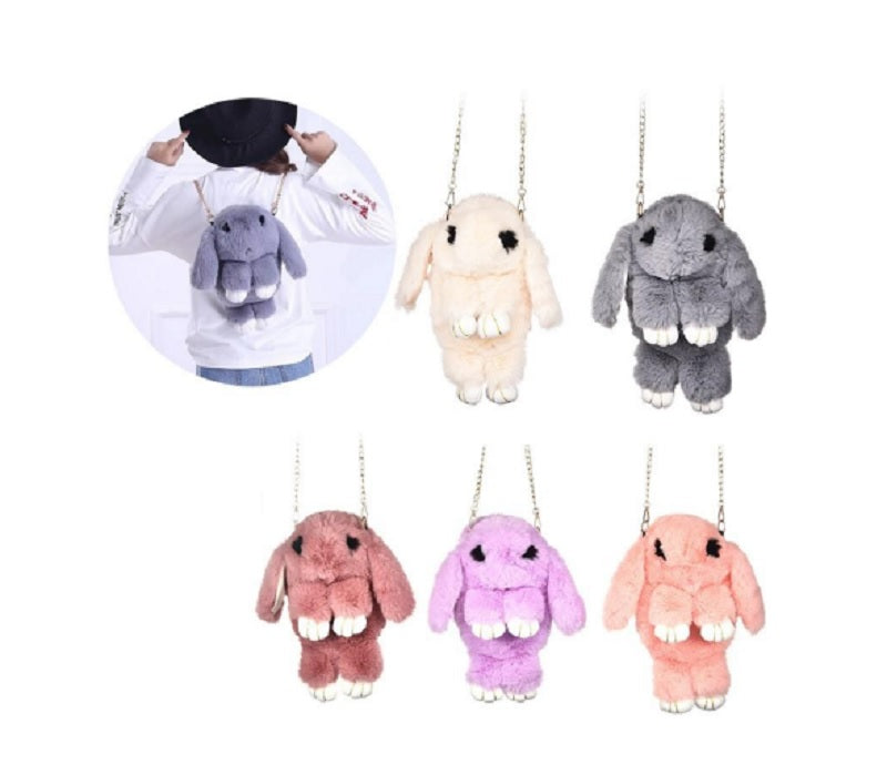 Girls Fluffy Bunny Backpacks Wholesale - Dallas General Wholesale