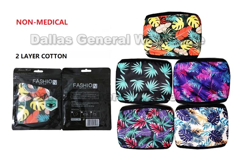 Adults Anti-Pollen Marijuana Cotton Face Masks Wholesale