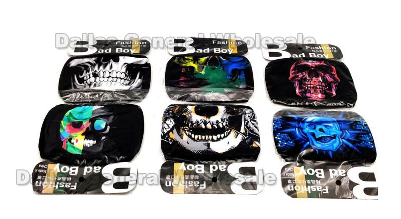 Anti-Pollen Skull Face Shield Masks Wholesale