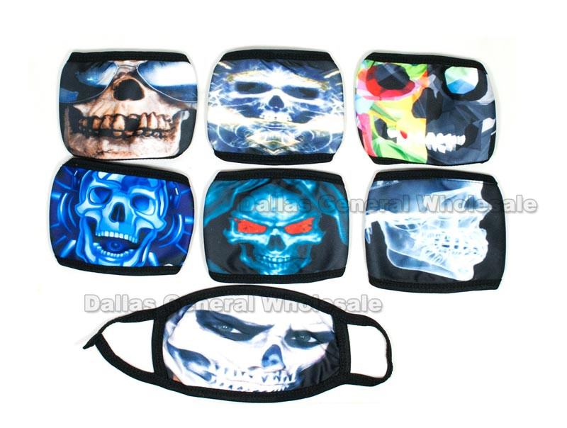 Anti-Pollen Skull Face Masks Wholesale